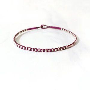 🎉HOST PICK 🎉 dainty silver beaded wrap bracelet